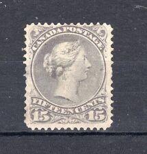More details for canada 1868-71 15c dull violet-grey mvlh