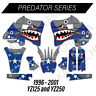YAMAHA YZ250 GRAPHICS YZ125 1996 1997 1998 1999 2000 2001 DECAL KIT MOTOCROSS YZ
