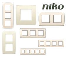 Plaque de recouvrement Niko - Crème
