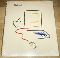 SEALED 1983 EARLY 1st Print MACINTOSH 128K MANUAL Guide 1984 Mac M0001 RARE NEW!