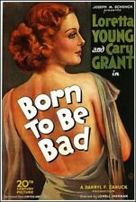 ' Born To Be Bad '  FILM POSTER  FRIDGE MAGNET                     NEW