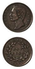 Sarawak Rajah Charles Brooke One Cent 1889 H KM-6
