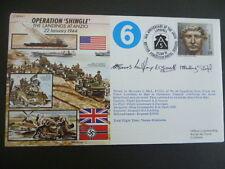 World War 2 50th ANNIVERSARY Fdc 1992 Operation Shingle Landing at Anzio