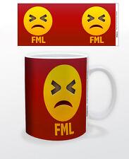 EMOJI FML 11 OZ COFFEE MUG TEA CUP ART DECOR KEYBOARD MAC FUNNY PC ICONIC QUOTE!