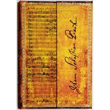 Paperblanks Lined Writing Journal Bach Cantata BWV Gold Foiling Ultra Size 7x9