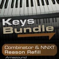 40 PIANOS +64 RHODES +ELECTRIC PIANOS +64 HAMMONDS REASON REFILL BUNDLE DOWNLOAD