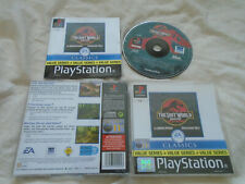 The Lost World: Jurassic Park PS1 (COMPLETE) Sony Playstation rare classics