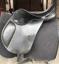 "County Drespri 17.5"" Saddle #5 wide jump event dressage all purpose"