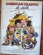 Affiche AMERICAN GRAFFITI La suite (affiche de Wm Stout) 60x40 cm
