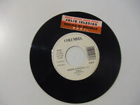 """Julio Iglesias / Grazia Di Michele -Disco Vinile 45 Giri 7"""" Juke Box + Stickers"""