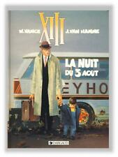 Vance TREIZE XIII 7 Nuit du 3 Aout EO Dargaud 1991