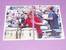 N°71 72 HANSON PANINI SMASH HITS PLANET POP 1998 FRANCE COLL. '99
