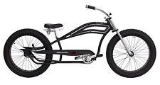 "Micargi SEATTLE-MBK 26"" Stretch Bike Bicycle Retro Handlebar, Matte Black"