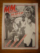 MELODY MAKER 1981 SEP 5 RIP RIG PANIC GO GO GO STONES