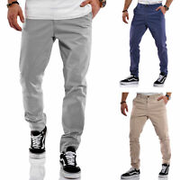 Jack & Jones Herren Chino Hose Chinos Herrenhose Chic Business Unifarben