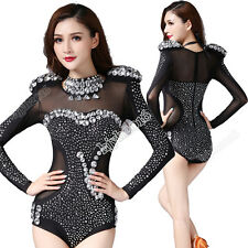 Belly Dance Costume Jumpsuit Carnival Outfit Clubwear Performance Rhinestones