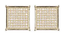 Orecchini a clip-oro Orecchini di Lusso con pietre zirconi-Nadia G