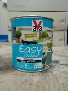 3v3 Easy Colour Exterior Paint Scrub Satin 0.5L