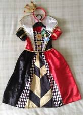 Disney Alice In Wonderland Queen Of Hearts Fancy Dress Costume/Girls Outfit 2-3