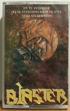 Rare Blaster Latin Thrash Heavy Death Metal Mexico Cassette Tape 1995 New