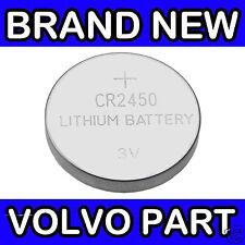 Volvo S40, V50, C30, C70 (08-) XC60 Remote Key Fob Battery (x1 CR2450)