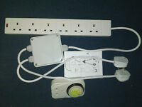 Grow Light Contactor 6 Way Hydroponics Lighting Relay. Choice of Timers