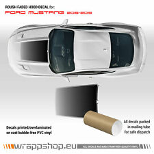 Roush Faded Hood Scoop Decal for Ford Mustang 2015 - 2019