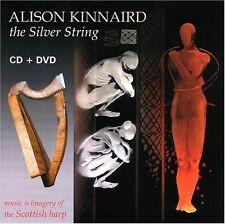 Alison Kinnaird - Silver String: Music & Imagery of Scottish Harp [New CD] Bonus
