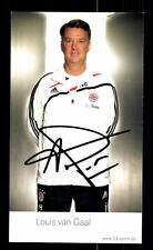 Louis van Gaal Autogrammkarte Bayern München 2009-10 Original Signiert+ C 2572
