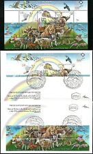 ISRAEL 2007 Stamp Sheet + FDC's NOAH'S ARK - 'THE FLOOD'. MNH. (Very Nice).