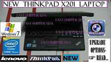"❆NEW❆ Lenovo x201 THINKPAD business laptop NETBOOK 12.1"" core i5 2.4GHz : READ ➨"