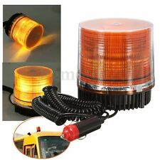 Car Truck Boat Magnetic Beacon Strobe Emergency Warning Flash Light Amber LED US