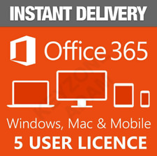 2020 Microsoft Office 365 Pro Plus ACCOUNT 5 Devices (1 MIN DELIVERY)
