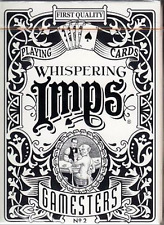 Gamesters Standard Edition Playing Cards (Black) by Whispering Imps + Murphy's