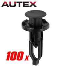 100x Mudguard Bumper Cover Grille Push Nylon Clip Retainer Fastener for Toyota