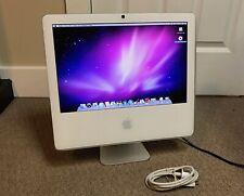 "Apple iMac 17"" A1208 2.0GHz/2GB/160GB/X1600 White Matte Screen Beautiful LCD"