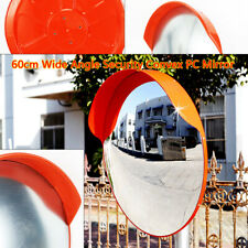 """New listing Convex Pc Mirror 24"""" Angle Security Outdoor Road Traffic Driveway Safe Mirror"""