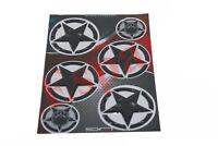 Stickers Star Design Decal Emblem Set Cars Motorcycles Universal Fit AUS