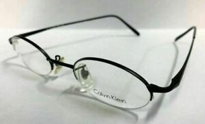Authentic Calvin Klein Eyeglasses CK343 590 Black Frames 47MM Rx-ABLE