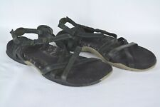 MERRELL Shoes Women's Size 9M Black San Remo Strappy Leather Sport Sandals