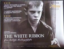 THE WHITE RIBBON ORIGINAL 2011 QUAD POSTER CHRISTIAN FRIEDEL MICHAEL HANEKE