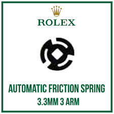 ♛ ♛ ROLEX Automatic Rotor Weight Friction Spring 3.3mm, 3 Arm Swiss Made  ♛ ♛