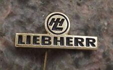 Antique Liebherr Swiss Machine Tool Heavy Equipment Switzerland Pin Badge