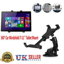 UNIVERSAL WINDSHIELD Tablet Mount Holder Dashboard 360 Rotation for 7-11 Inch