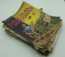 More details for practical engineering mags - c1930s - scraps, crafting, papercrafts, vintage ads