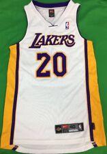 Authentic Nike Dri-Fit Los Angeles Lakers Gary Payton NBA Jersey SZ 40 Pro  Cut 279c43ca4
