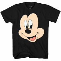 Disney Mickey Mouse Face Big Smile T-Shirt