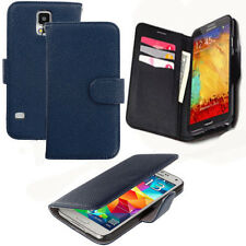 2 in 1 Magnetic Leather Book Wallet Cover Pouch Case Stand For Samsung Galaxy UK