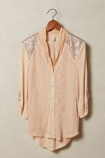 New Anthropologie Leighton Velvet details by Tiny Nude sequin shoulder Sz L