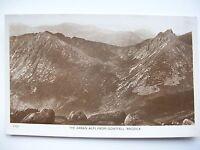 Arran Alps from Goatfell, Arran  --  Nr Brodick, Corrie, Lamlash etc.